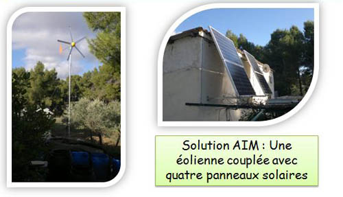 aim solutions energies, site isolé, photovoltaïque